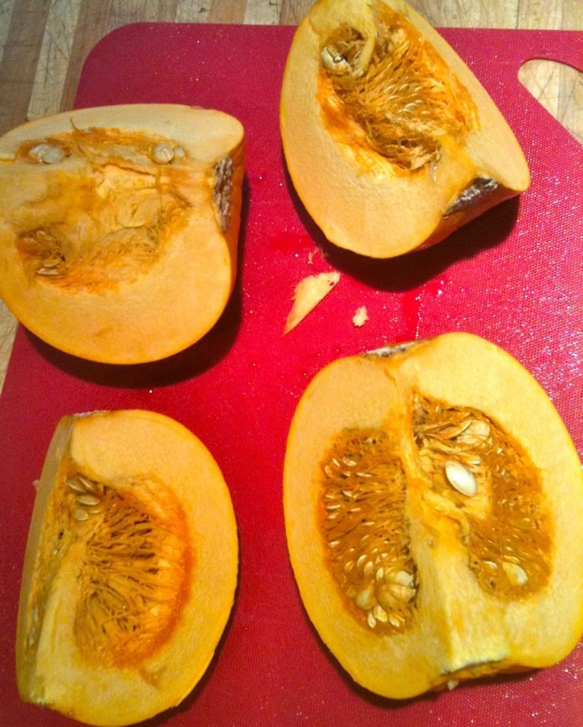 raw pumpkin