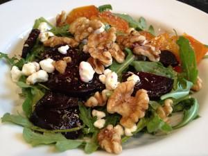 Arugual and Beet Salad