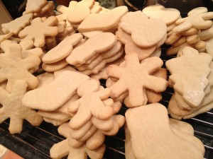 Cut- Out Sugar Cookies