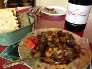 Eggplant Caponata, a Sicilian Appetizer