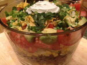Blackened Taco Salad