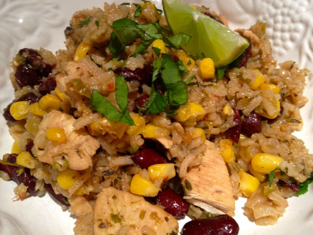 Chicken, Red Beans And Rice Recipe, Dirty Cajun Style!