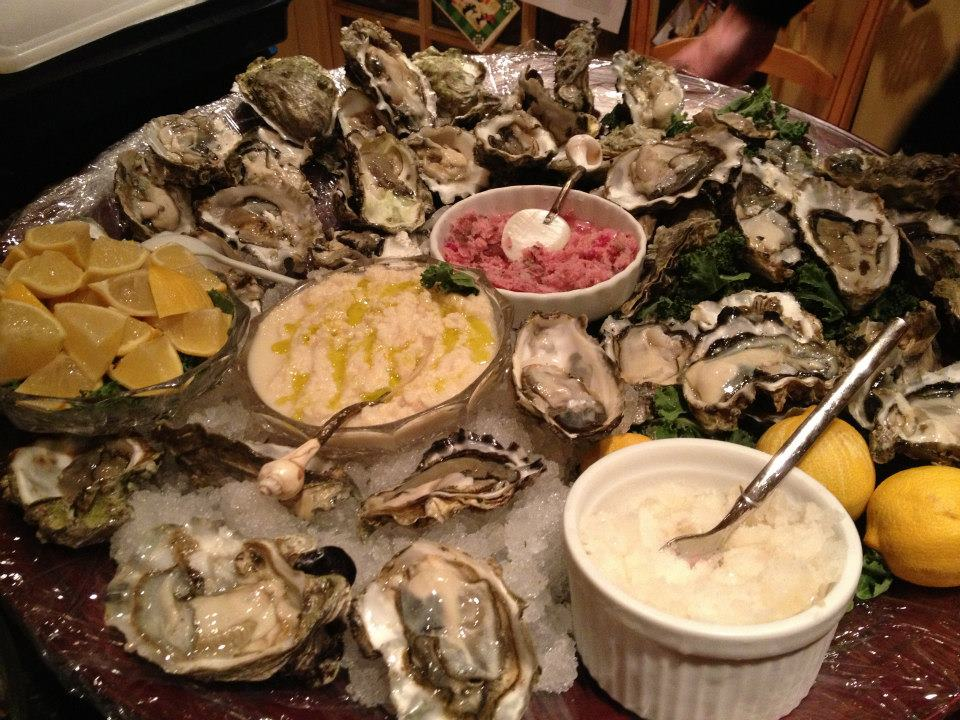 Raw Oysters on the Half Shell