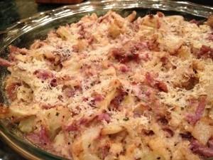 Cheesy Cauliflower and Fennel Dip