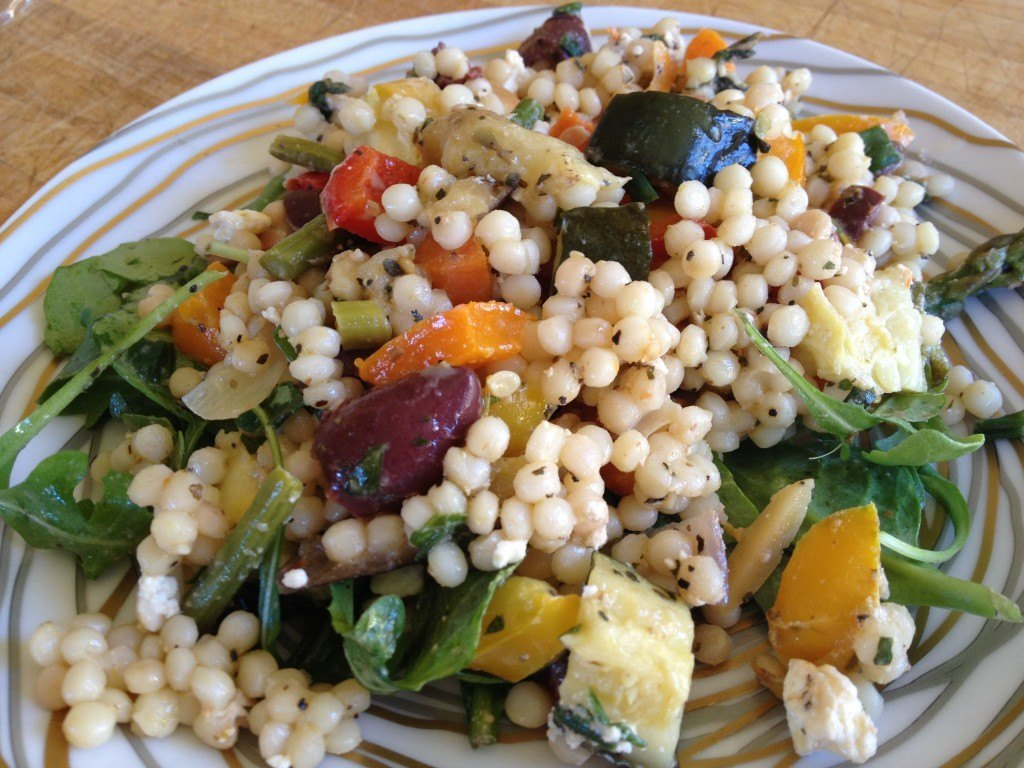 Grilled Vegetable & Couscous Salad Recipe