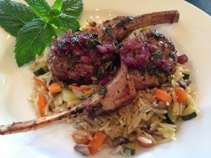 Greek Grilled Lamb Chops