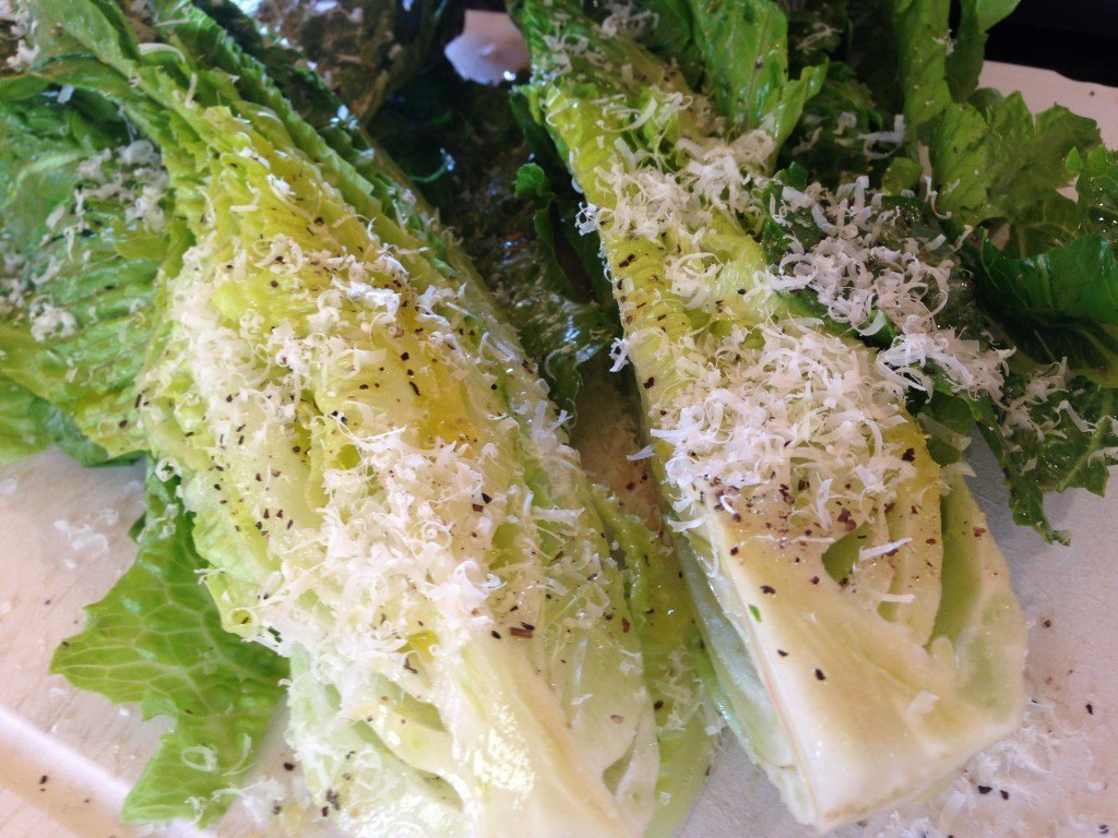 how to cook romain lettuce