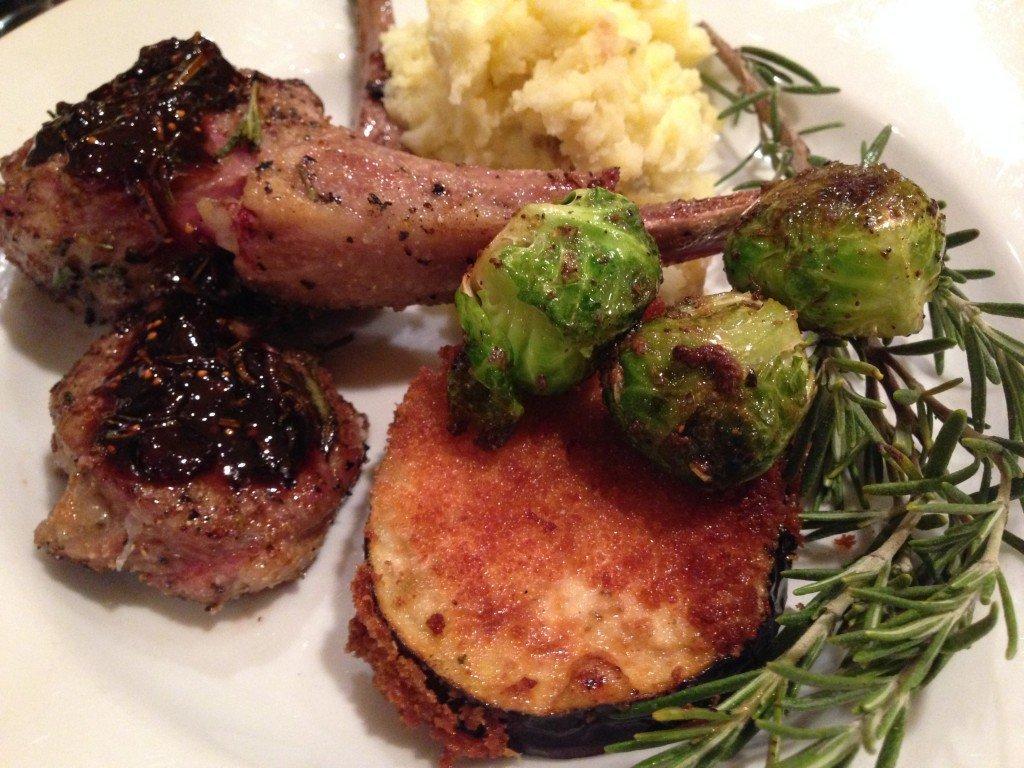 Rosemary & Garlic Roast Lamb Recipe